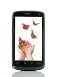 mobilophone Photo stock