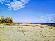 Mobilt foto för ryska landskap arkivbild