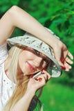 mobilt telefonsamtal Fotografering för Bildbyråer