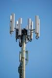 mobilt telefontorn för antenn Arkivbilder