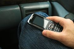 Mobiltelefon stockfotografie