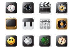 mobiltelefon för 2 knappar Arkivfoton