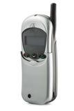 Mobiltelefon för gammal stil som isoleras på vit Arkivfoto