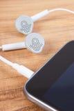 mobiltelefon för hörlurar 3d Royaltyfri Foto