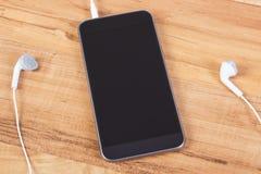 mobiltelefon för hörlurar 3d Royaltyfri Fotografi