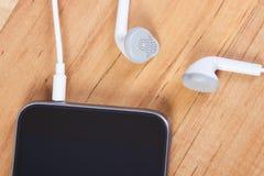 mobiltelefon för hörlurar 3d Royaltyfria Foton