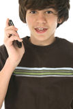 Mobiltelefon-Tween stockfotos