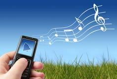 mobiltelefoncirkelsignaler Royaltyfri Fotografi