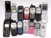 mobiltelefoner Royaltyfri Fotografi