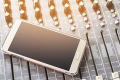 Mobiltelefoner Fotografering för Bildbyråer