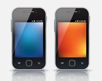 Mobiltelefoner eps 10 Royaltyfria Foton