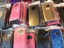 Mobiltelefonfall Royaltyfri Bild