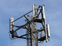 Mobiltelefonmast, Chorleywood husgods, Hertfordshire royaltyfri fotografi