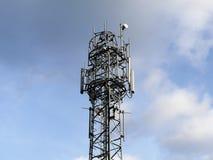 Mobiltelefonmast, Micklefield gräsplan arkivbild