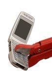 mobiltelefonservice Arkivfoton