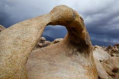 Mobius Arch, Alabama Hills, California Stock Photos