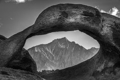 Mobius Arch Alabama Hills. Lone Pine California Royalty Free Stock Images