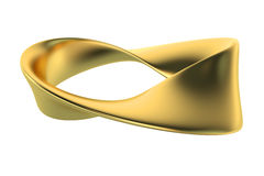 Mobius or Moebius strip Royalty Free Stock Photo