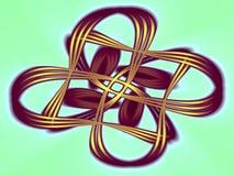 Mobius orbits Royalty Free Stock Photo