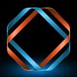 Mobius-Streifen-Vektor-Illustration Stockfoto