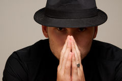 mobster royalty free stock photography