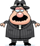Mobster Boss Royalty Free Stock Photography