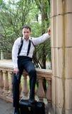 Mobster portrait Stock Photos