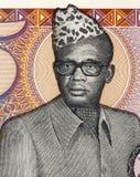 Mobutu Sese Seko Στοκ Εικόνες