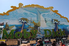 Moby Dick amusement ride Stock Photo