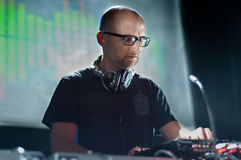 Moby DJ set Royalty Free Stock Photos