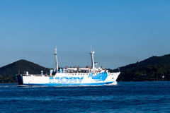 Moby Ferryboat Stock Photo