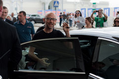 Moby in Moscow Stock Images