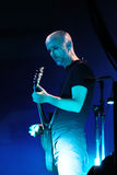 Moby performs at Minsk-Arena on June 10, 2011 in Minsk Royalty Free Stock Photography