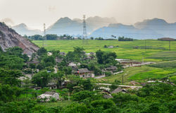 Moc Chau village in Hanoi, Vietnam Stock Photos