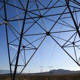 moc linii elektrycznych zdjęcia royalty free