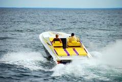 moc na łodzi Obraz Royalty Free
