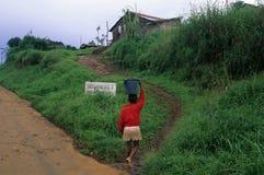 Moca - Equatorial Guinea Stock Image