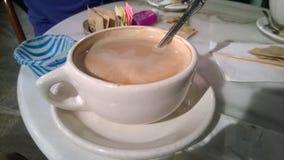 Moca italiana della caffetteria Fotografia Stock Libera da Diritti
