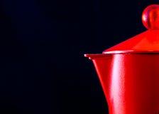 Moca italiana roja Imagen de archivo