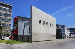 Mocak - musée d'art contemporain à Cracovie, Pologne image stock