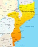 Mocambique Arkivbild