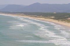 Mocambique beach. Florianopolis, Santa Catarina, Brazil Stock Photos