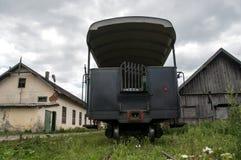 Mocanita火车 库存照片