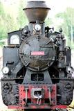 Mocanita Hutulca Train Bucovina. Mocanita Hutulca train in Bucovina county Romania. The unique train in Moldovita Bucovina Royalty Free Stock Images
