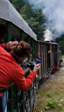 'mocanita' pociąg - Maramures Zdjęcie Royalty Free