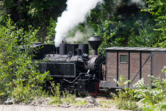 Mocanita train in Vaser Valley, Maramures Stock Photography