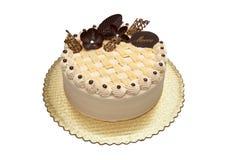 Mocca cake Stock Image