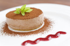 Mocca cheese cake Stock Photography