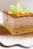 Mocca cheese cake Stock Image
