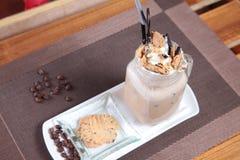 Mocca ice cream Stock Photo
